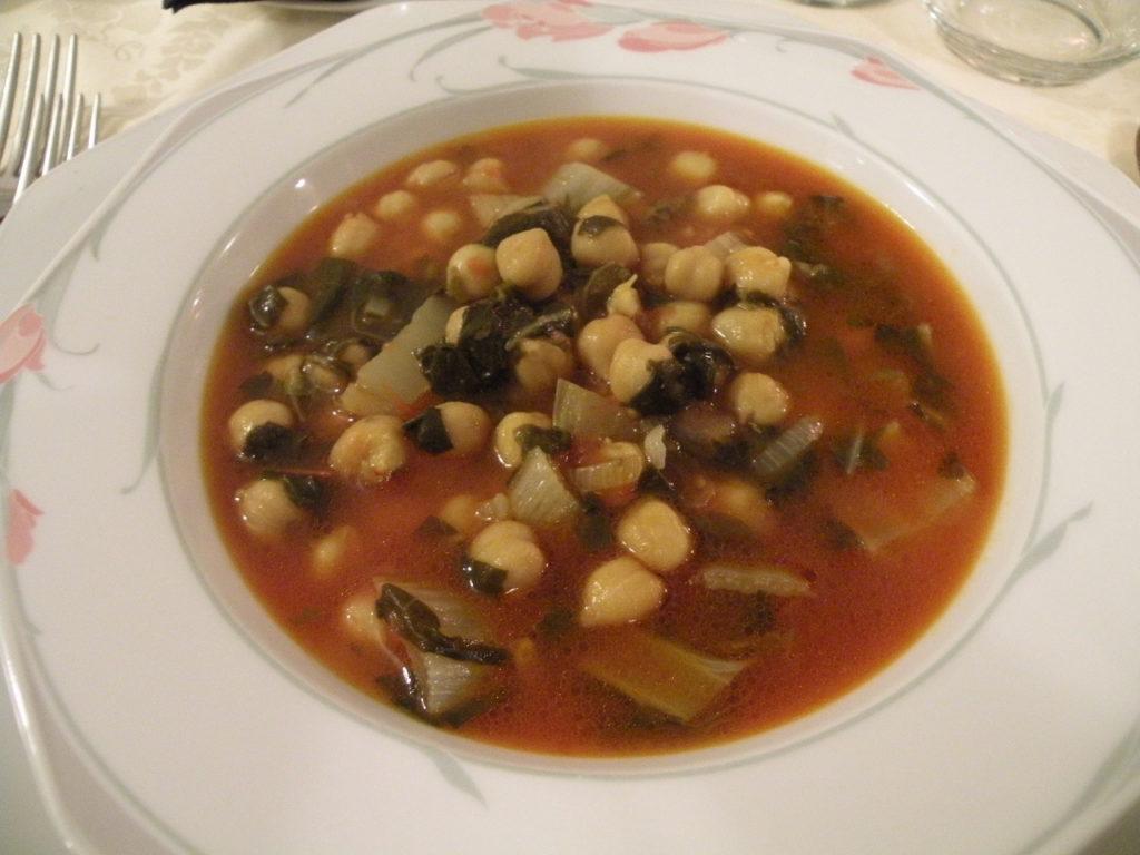 ホテル・アル・ブルネッロの夕食7