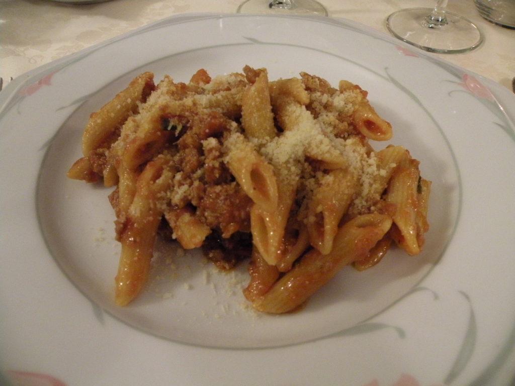 ホテル・アル・ブルネッロの夕食8