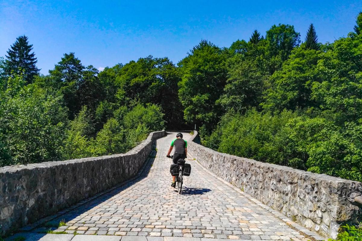 ドイツ・ロマンチック街道をサイクリング