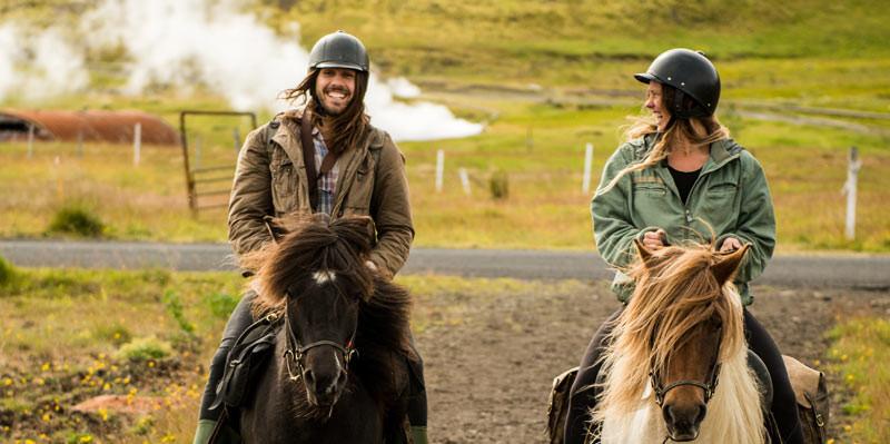 アイスランド乗馬