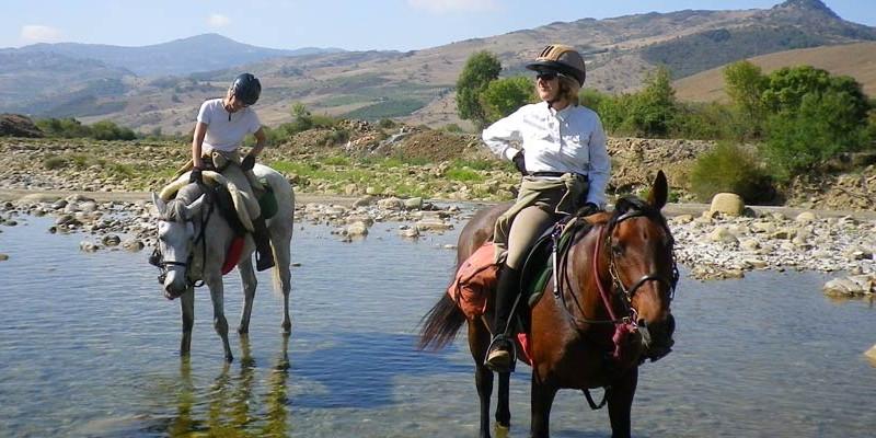 シチリア島乗馬