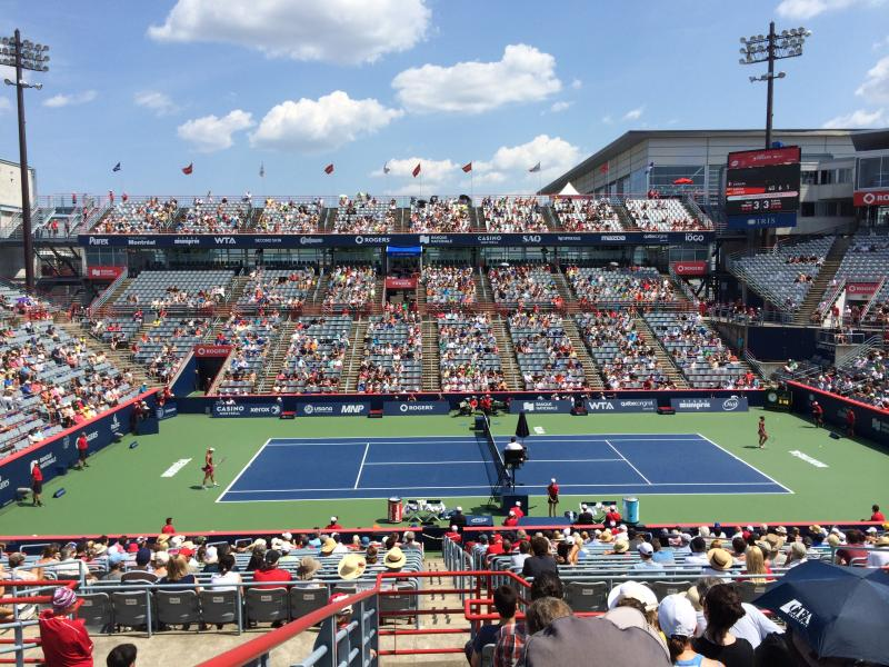 rogers-cup-montreal-100 Level, Side